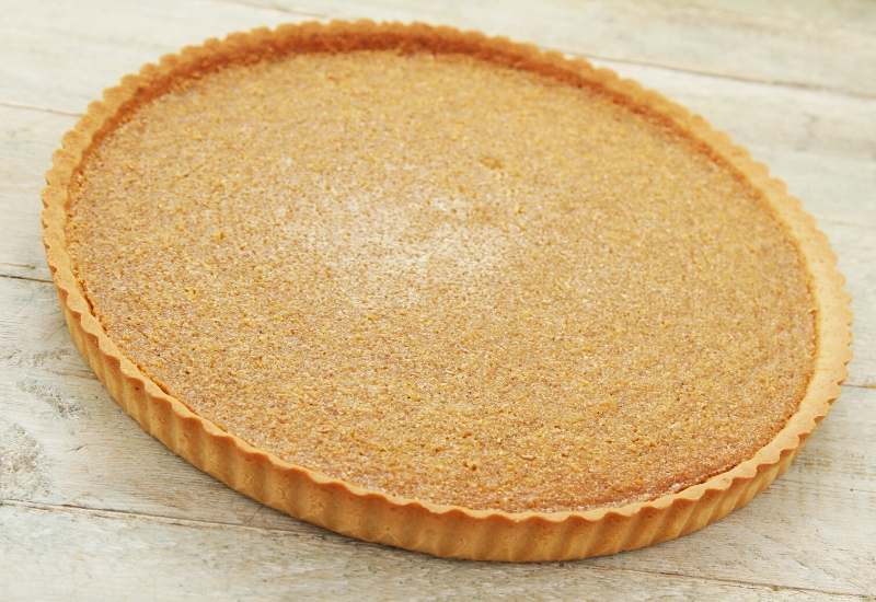 baked shortcrust pastry