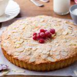Our juiciest Cherry Bakewell Tart