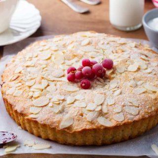 cherry bakewell tart2