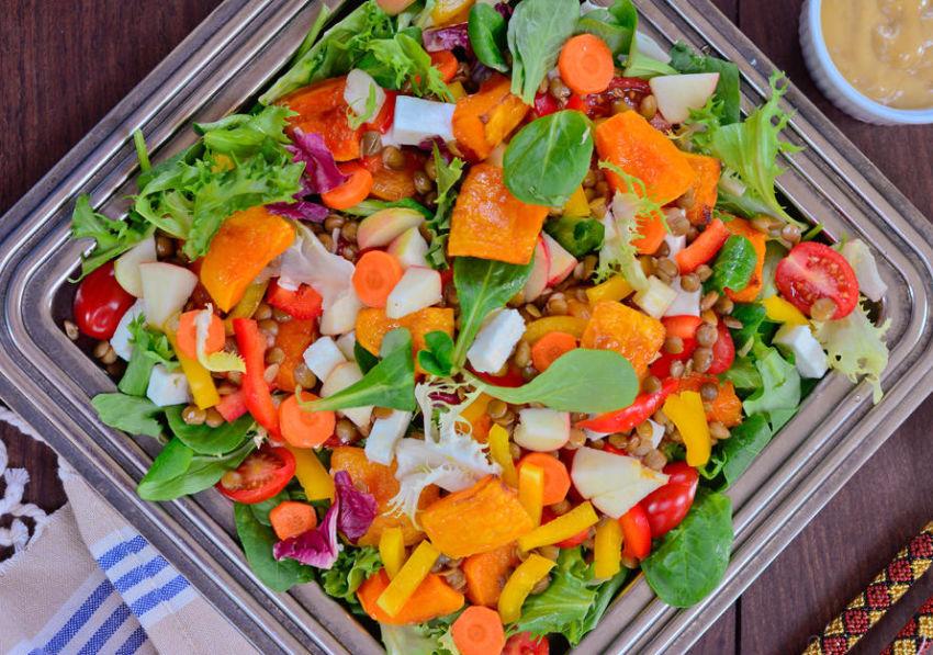 Butternut and Lentil Salad e1613063713551
