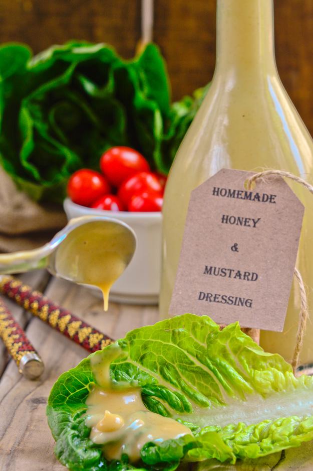 Honey and Mustard Dressing 1 1