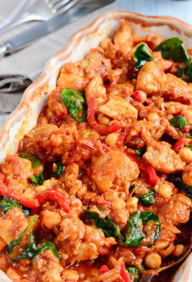 One Pot Chicken Chilli 3a e1615823652930