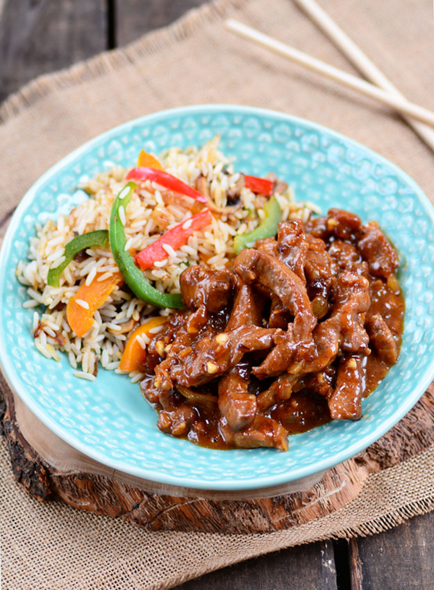 Sticky Asian Pork 1