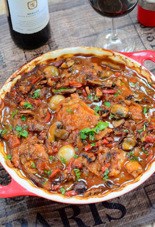 Burgundy Chicken Casserole 4 e1622064124441