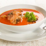Hungarian fish soup