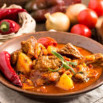Hungarian beef stew goulash