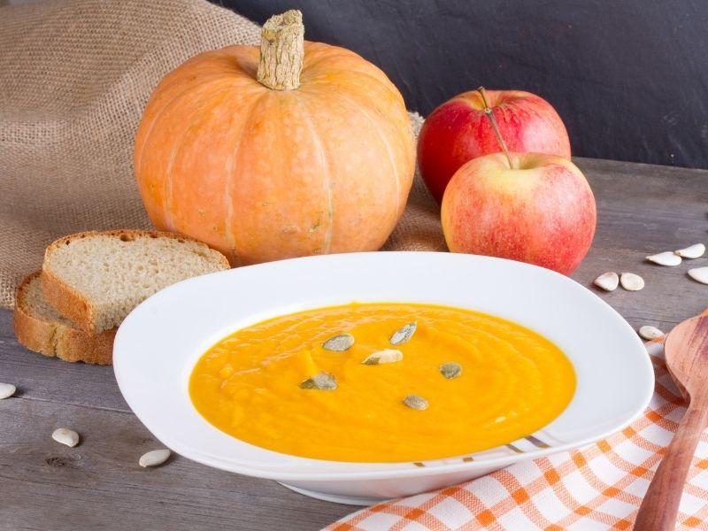 fruity pumpkin potatoe soup recipe